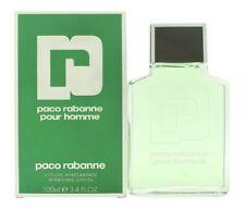 PACO RABANNE POUR HOMME AFTERSHAVE 100ML SPLASH - MEN'S FOR HIM. NEW