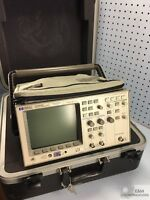 HP 54600B SERIES 2-CHANNEL 100MHZ OSCILLOSCOPE W/ POWER CORD, DOCS, HARD CASE