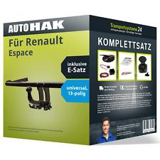 Anhängerkupplung abnehmbar für RENAULT Espace +E-Satz NEU inkl. EBA