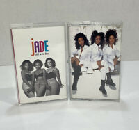 Jade~Jade To The Max AND Mind Body & Song 1990's Hip-Hop / Swing~Cassettes