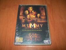 EL REGRESO DE LA MOMIA DVD EDICIÓN 2 DISCOS ESPAÑOLA PRECINTADO