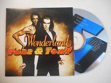 YAZZ & TONY : WONDERLAND [ CD SINGLE ]