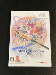 Tales of Graces Namco Bandai Nintendo Wii Japan Import NTSC-J RVL-P-STGJ NEW