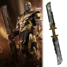 Cosplay Avengers Endgame Thanos Double Edged Sword Weapon Halloween Thanos Props