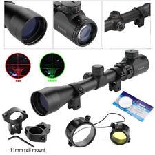 3-9x40 Lunette de Visée Vision pour Cible Chasse Militaire W/Support Rifle Scope