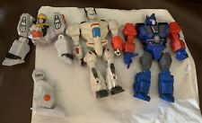 Mashers Lot Transformers Optimus Prime