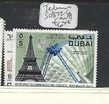 DUBAI   (PP1505B)  TELECOMS  SG 374-6   MNH