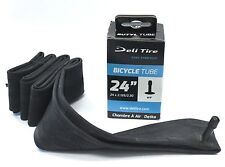 "Deli Bicycle Inner Tube 24"" x 2.125"" - 2.30"" , Schrader Valve 35 mm"
