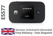 HUAWEI E5577 UNLOCKED BLACK LTE 4G & 3G Mobile MiFi WiFi Wireless Modem E5377