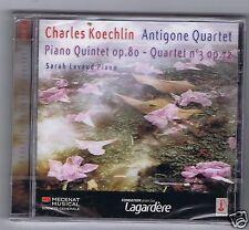 SCHUBERT CD NEW PIANO QUINTET& QUARTET / ANTIGONE QUARTET/ SARAH LAVAUD