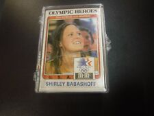 1983 Olympic Heroes 44 Card Trading Card Set w/Shirley Babashoff jhml5