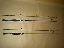 """(2) Shimano SRS Ultra Light 2-piece Spinning Fishing Rods, 5ft. 6"""", New"""