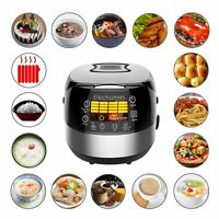 Elechomes LED Touch Control Electric Rice Cooker Cups Uncooked Multi-Cooker
