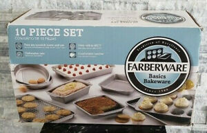 Farberware Basics Bakeware 10 Piece Pan Set