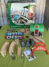 BRIO World 33512 Travel Switching Set  42 Pcs Train 3+ Complete Excellent