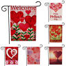 "Happy Valentine's Day House Garden Flag Party Supplies Love Decorative 12x18"""