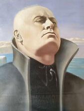 """Original Ölbild """" Benito Mussolini - The Duce """" Bruschetti Alessandro, 1937"""
