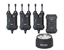 Sonik SKX Alarm & Receiver Set + Free Bivvy Light *New 2019* - Free Delivery