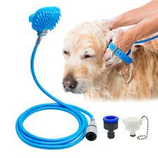 Dog Bath Shower Soft Dog Grooming Brush Glove Massager Washing Tool Sprayers