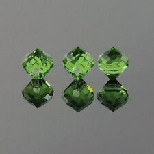 8pcs 8mm Crown shape Swarovski crystal bead A Grass green