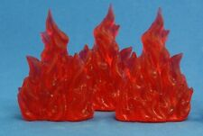 Wall of Fire (3) 77080- Dark Heaven Bones - Reaper MiniaturesD&D Wargames