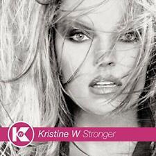 NEW Original CD Kristine W Stronger 2000 Who I Am' The River Divides