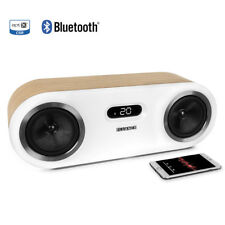 Fluance Fi50W Two-Way High Performance Wireless Bluetooth Premium Wood Speaker