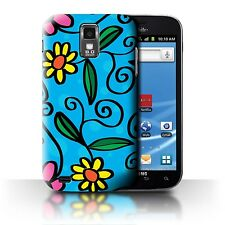 Stuff4 Hülle/Case/Backcover für Samsung Galaxy S2 Hercules/T989/Modern Lebendig