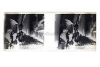 Algeria Scena Da Rue Animata Negativo Foto Placca Da Lente Vintage c1930