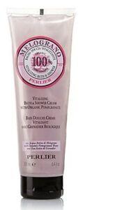 Perlier Bath Shower Creamwith Organic Pomegranate 8.4 oz - Full Size - New!