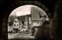 Wildberg Schwarzwald alte Postkarte ~1950/60 Durchblick zur Kirche Straßenpartie