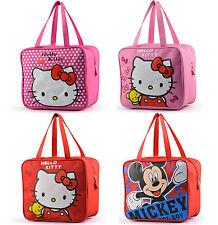 Hello Kitty Kid School Lunch Bag Picnic Box Carry Tote Waterproof Travel Handbag