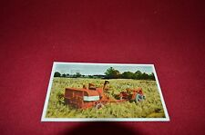Allis Chalmers All Crop Harvester Combine Dealer's Post Card DCPA4 vr2