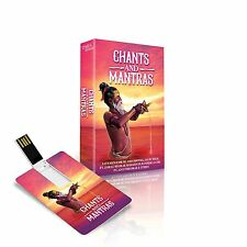 CHANTS AND MANTRAS USB MUSIC CARD / 175 TRACKS / PLAYS ON ALL USB DEVICES