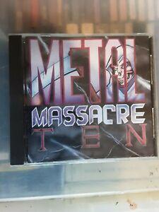 METAL MASSACRE 10 CD