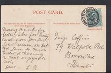 Family History Postcard - Coffin - 79 Walpole Road, Boscombe, Hants  RF828