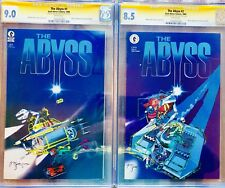 CGC SS Michael Kaluta The Abyss Movie Adaptation #1 + 2 Signed Signature Rare!