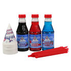 Great Northern Popcorn 3 Flavor Party Pack Snow Cone & Shaved Ice Syrup -Pint