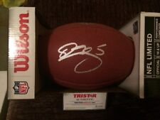DONOVAN MCNABB SIGNED AUTOGRAPHED WILSON NFL FOOTBALL TRISTAR AUTHENTIC EAGLES