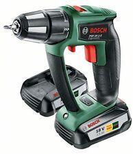 10 seul Bosch PSR18Li-2 18 V 2.5AH 2 Speed Drill/Driver 06039B0171 3165140814195 A