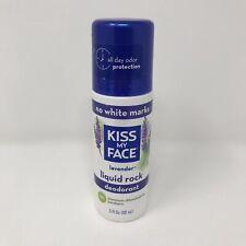 Kiss My Face Liquid Deodorant Lavender Aluminum Free Vegan Cruelty Free New