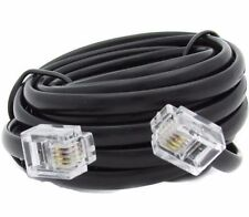 15M,RJ11 TO RJ11 CABLE, TELEPHONE FAX MODEM LINE CORD,ADSL BROADBAND ROUTER LEAD