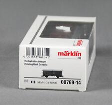 Märklin 00769-14 [pista h0 ~] schiebedachwagen tes-t-58 kmmgks mercancía nueva