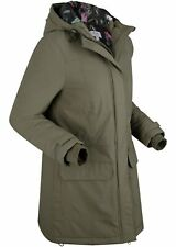 Funktions Outdoorparka, 24-392 in Dunkeloliv 50