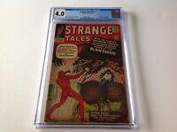 STRANGE TALES 113 CGC 4.0 ORIGIN AND 1ST PLANT MAN HUMAN TORCH MARVEL COMICS