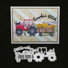 Truck Cat Metal Cutting Dies Stencil Scrapbooking DIY Album Stamp Paper Emboss