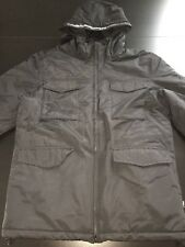 NEW WESC Jacket Mens M Black Puffy Tech Pocket Snowboarding Outdoor Ski Winter