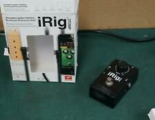 STOMP IRIG STOMPBOX GUITAR INTERFACE FOR IPHONE IPAD ! 1Z63