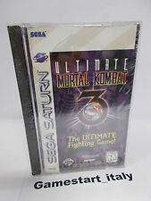 ULTIMATE MORTAL KOMBAT 3 (SEGA SATURN) NTSC VERSION - NEW VERY RARE