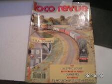 **a Loco Revue n°543 Locomotives à vapeur 231 / La SYBIC Jouef en HO